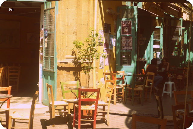 Coffee shop, Nicosia, Cyprus