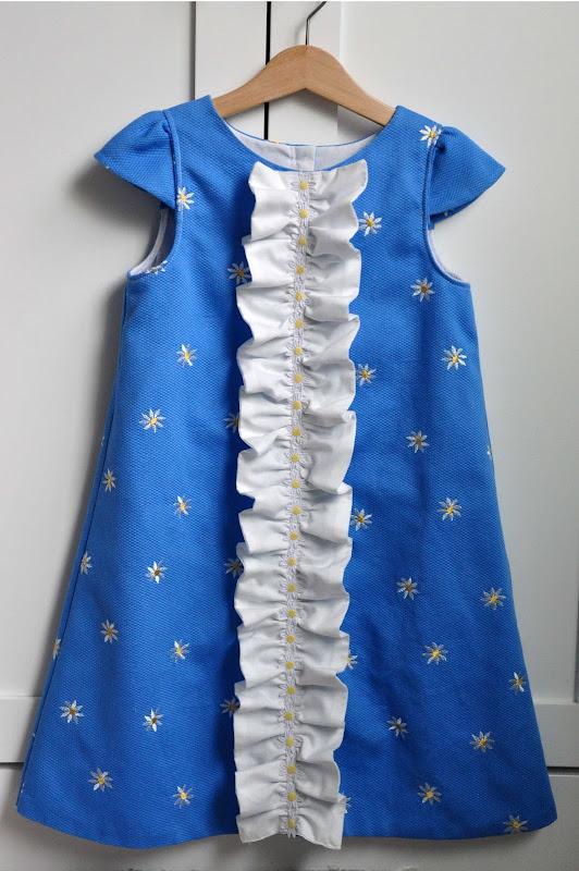 Как сшить платье для девочки летнее фото