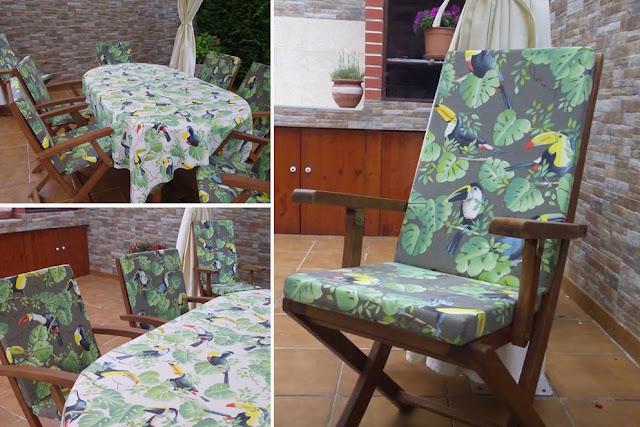 Tapicer a carrasco asturias redecora tu terraza este verano - Cojines para sillas terraza ...