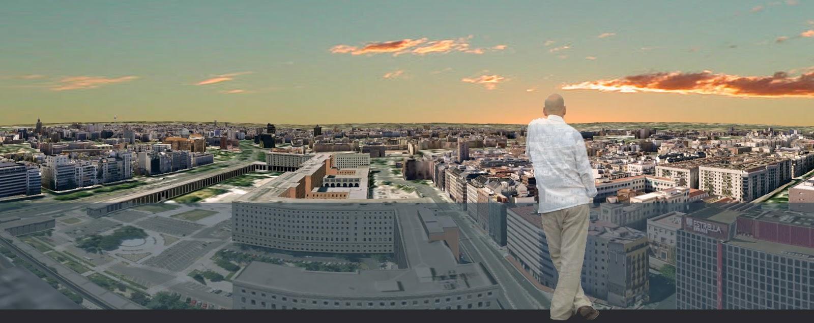 Giovanni olcese edificio de viviendas oficinas y for Oficinas bbva valladolid