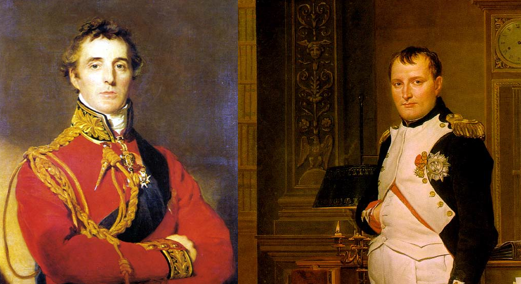 the contrast in careers of napoleon bonaparte and arthur wellesley Arthur wellesley, 1st duke of wellington he gained notoriety for defeating napoleon bonaparte at permission to publish material from the arthur wellesley.