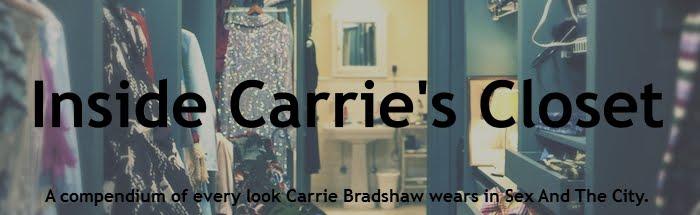 Inside Carrie's Closet