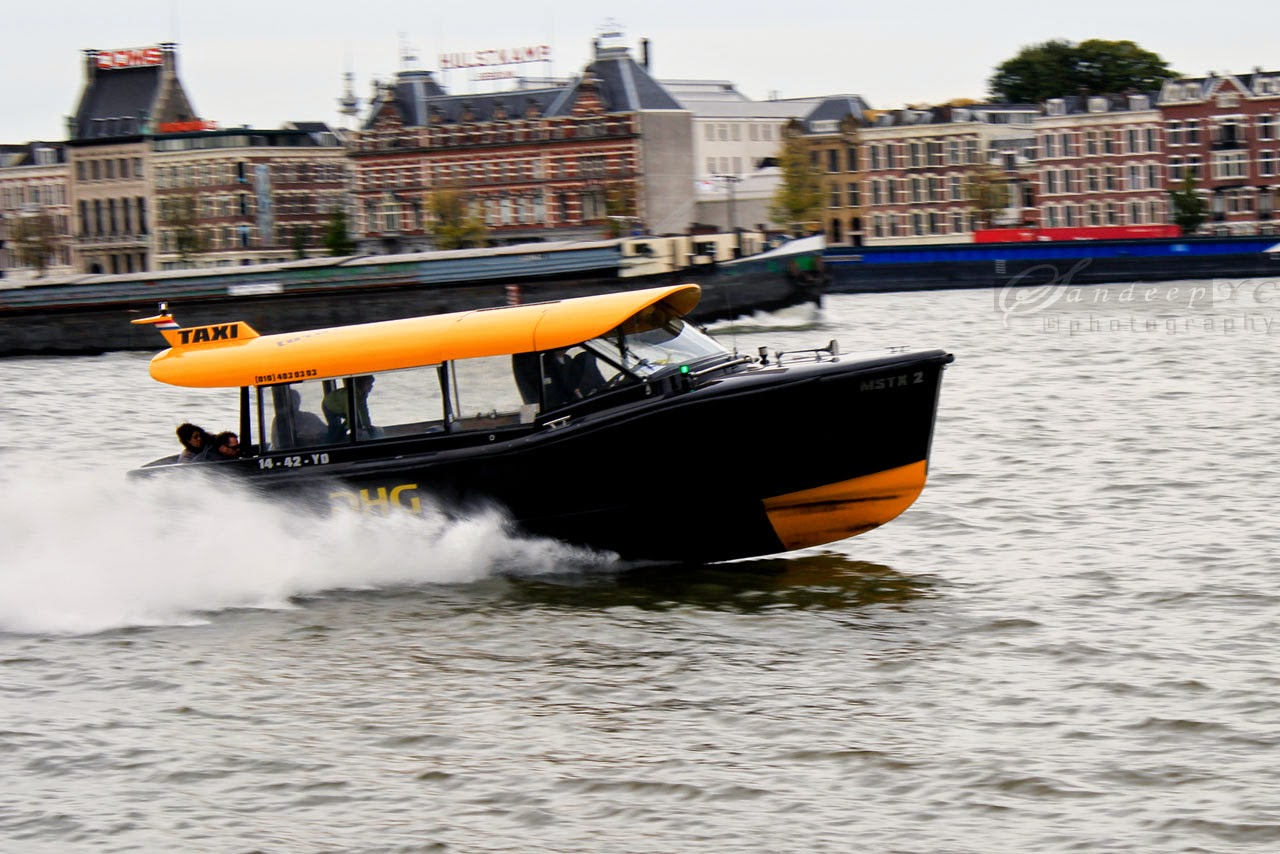How about a water Taxi