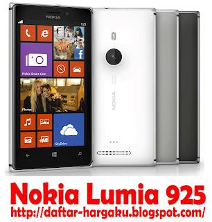Info Spesifikasi dan Daftar Harga Nokia Lumia 925