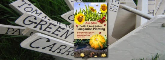 A book review of the Mix & Match Guide to Companion Planting by Josie Jeffery (reviewed by Coletta Teske, The Grocery Garden)