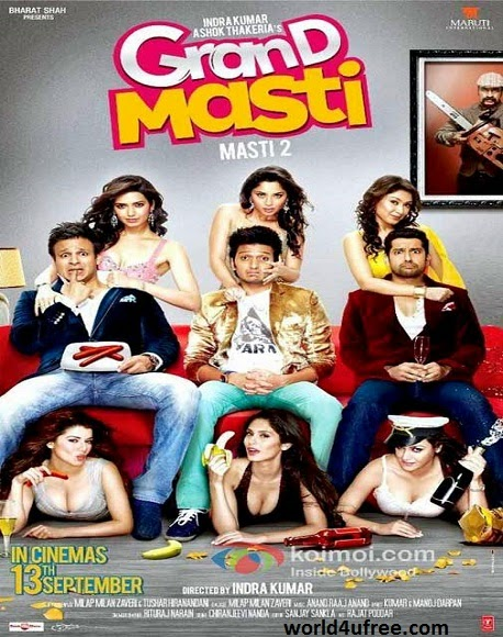 Grand Masti 2013 HD 300mb Free Download