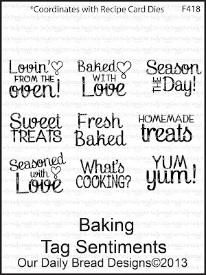 "ODBD ""Baking Tag Sentiments"""