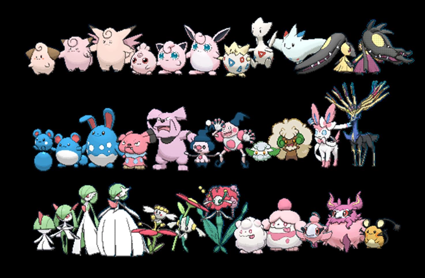 Fairy Type Pokemon Trainer Images | Pokemon Images