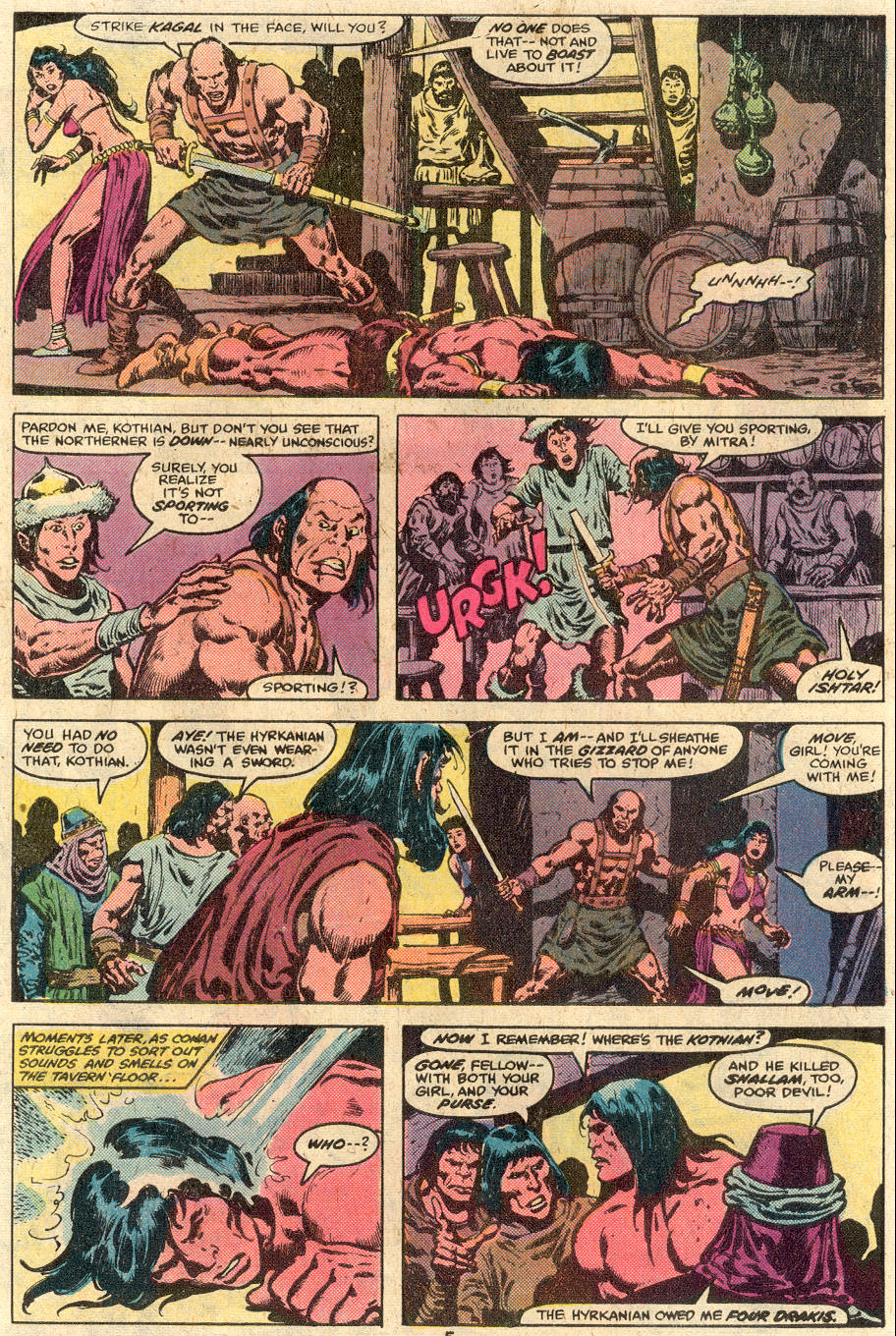 Conan the Barbarian (1970) Issue #114 #126 - English 5