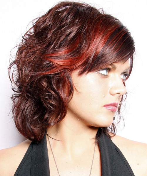 Medium Wavy Hairstyles A Place For Fashion
