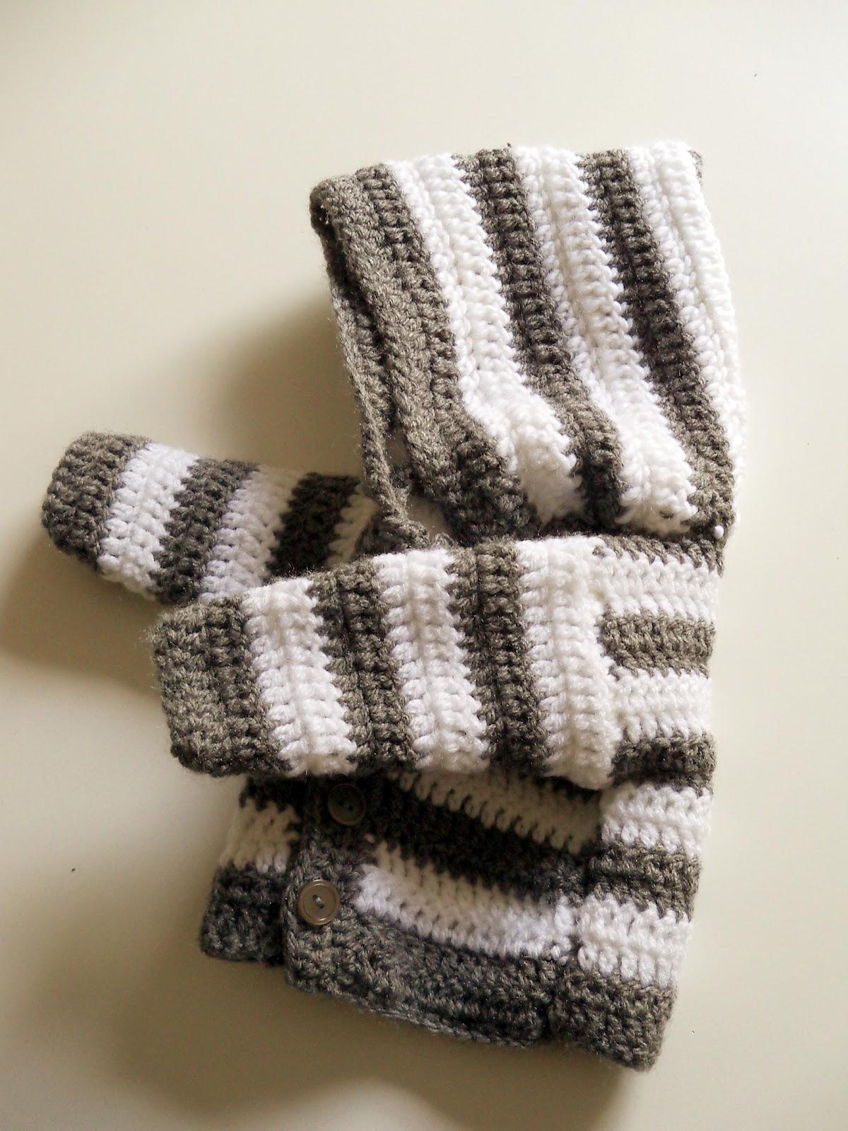 Crochet Baby Jacket Tutorial : Diese Jacke ist f?r ein Neugeborenes gedacht, weitere ...