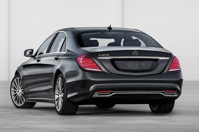 2015 New S-Class Sedan Mercedes Exclusive back view