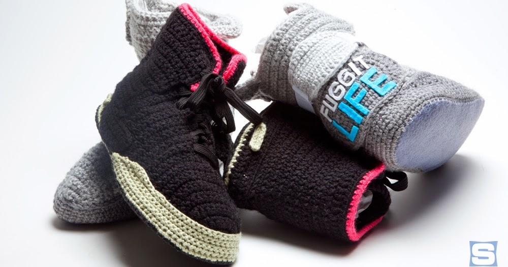 Crochet Yeezy : ... Clothes x Photos x FLY SH*T!: Crochet Sneaker Designs - Fuggit