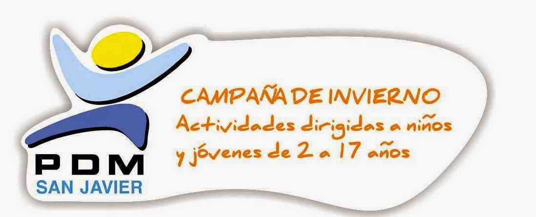 Actividades Campaña Invierno 2014-15 San Javier