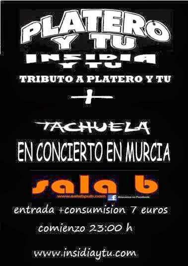 INSIDIA Y TU (TRIBUTO PLATERO Y TU) + TACHUELA