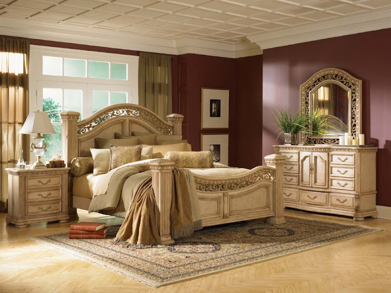 Bedroom Furniture Sets For Cheap (4 Image)