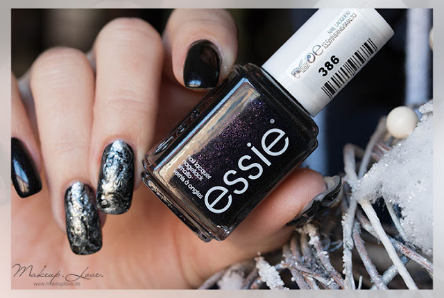 Silvester New Years Eve Naildesign Nageldesign Nagellack essie haute tub ciate