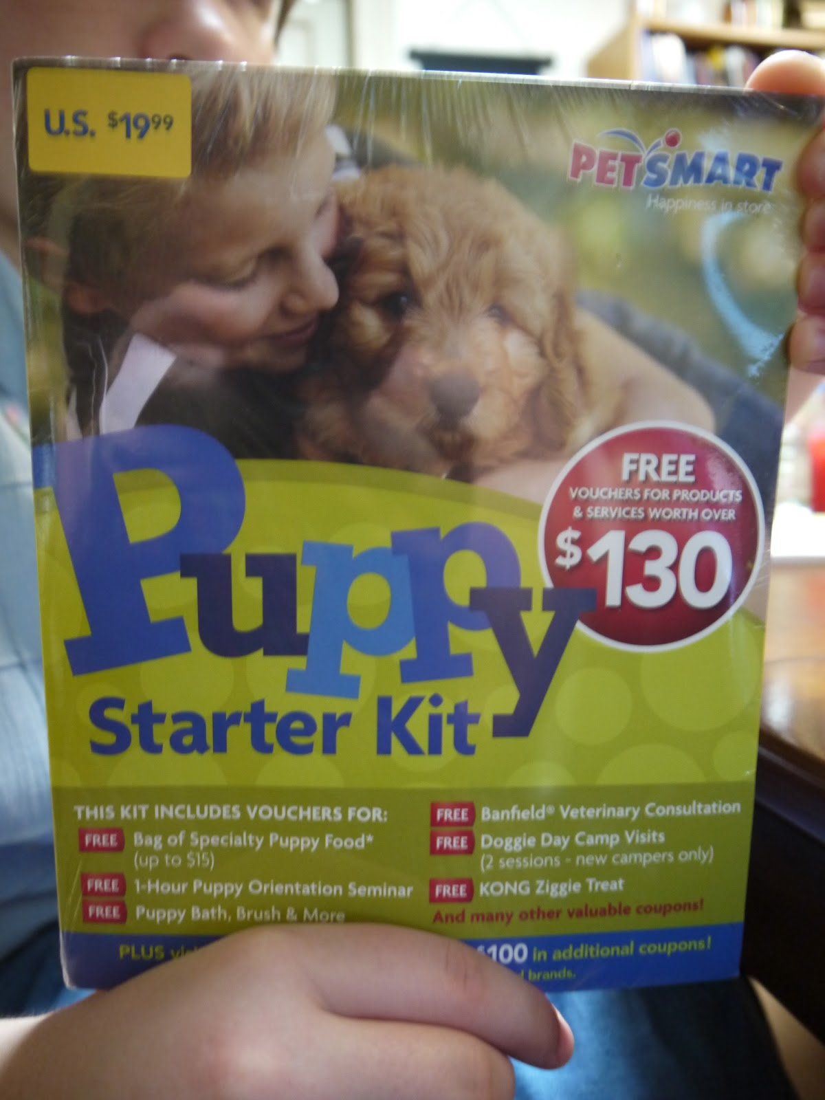 At The Fence Petsmart Puppy Starter Kit