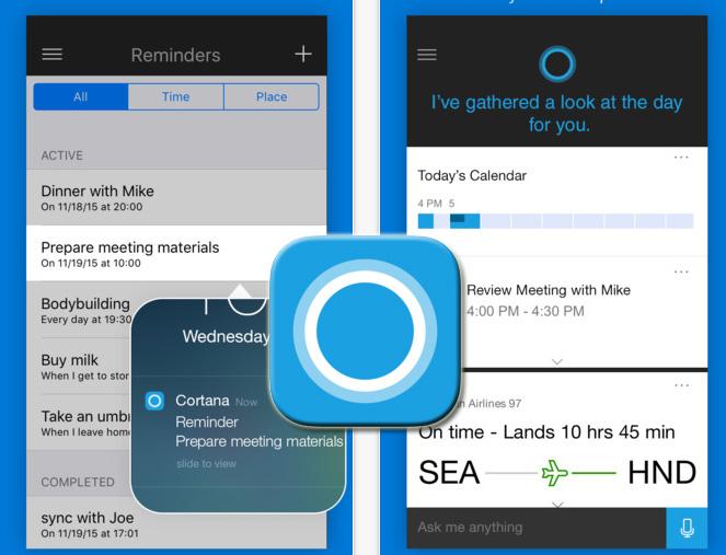 微軟小娜(Cortana)正式入主iPhone和Siri相見歡