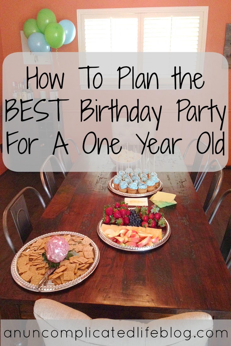 How To Plan The BEST Birthday Party For A 1 Year Old