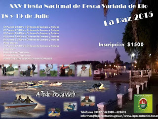 Lanzamiento de la XXV Fiesta Nacional de Pesca Variada de Río