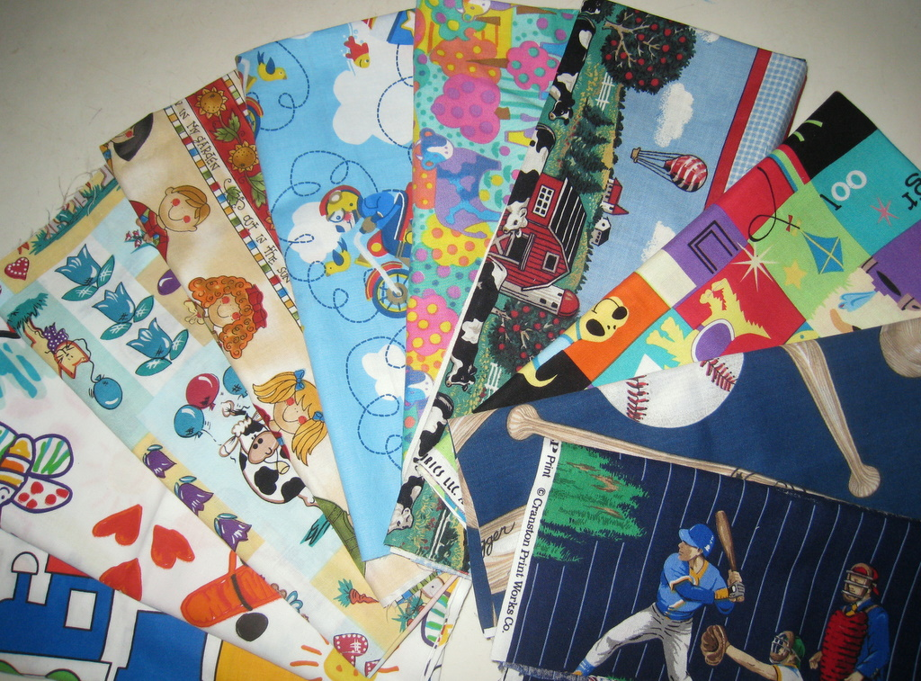 Noga quilts children 39 s fabrics giveaway for Childrens quilt fabric