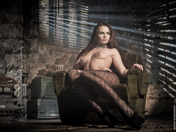Maxim Guselnikov fotografia mulheres sensuais modelo russa Ekaterina Vladi