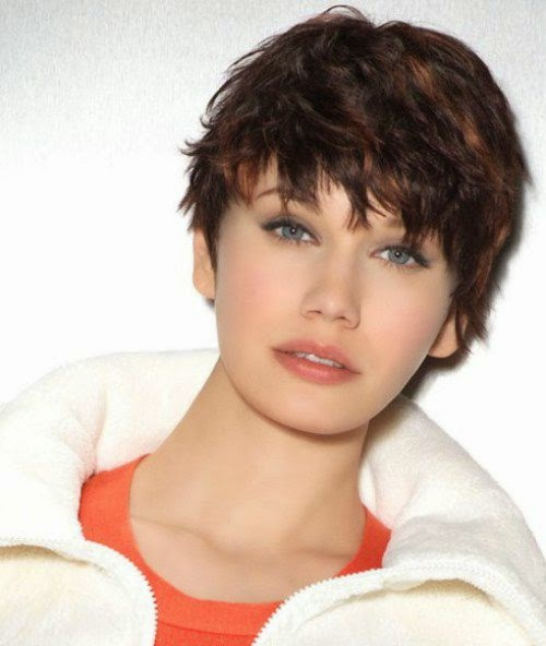 Short Hairstyles for Chubby Faces 2014