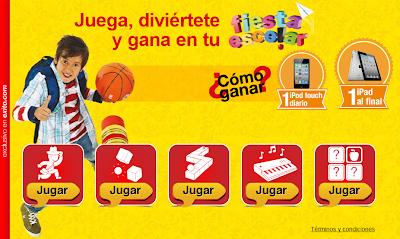 Promocion Exito Gana iPod Touch y iPad