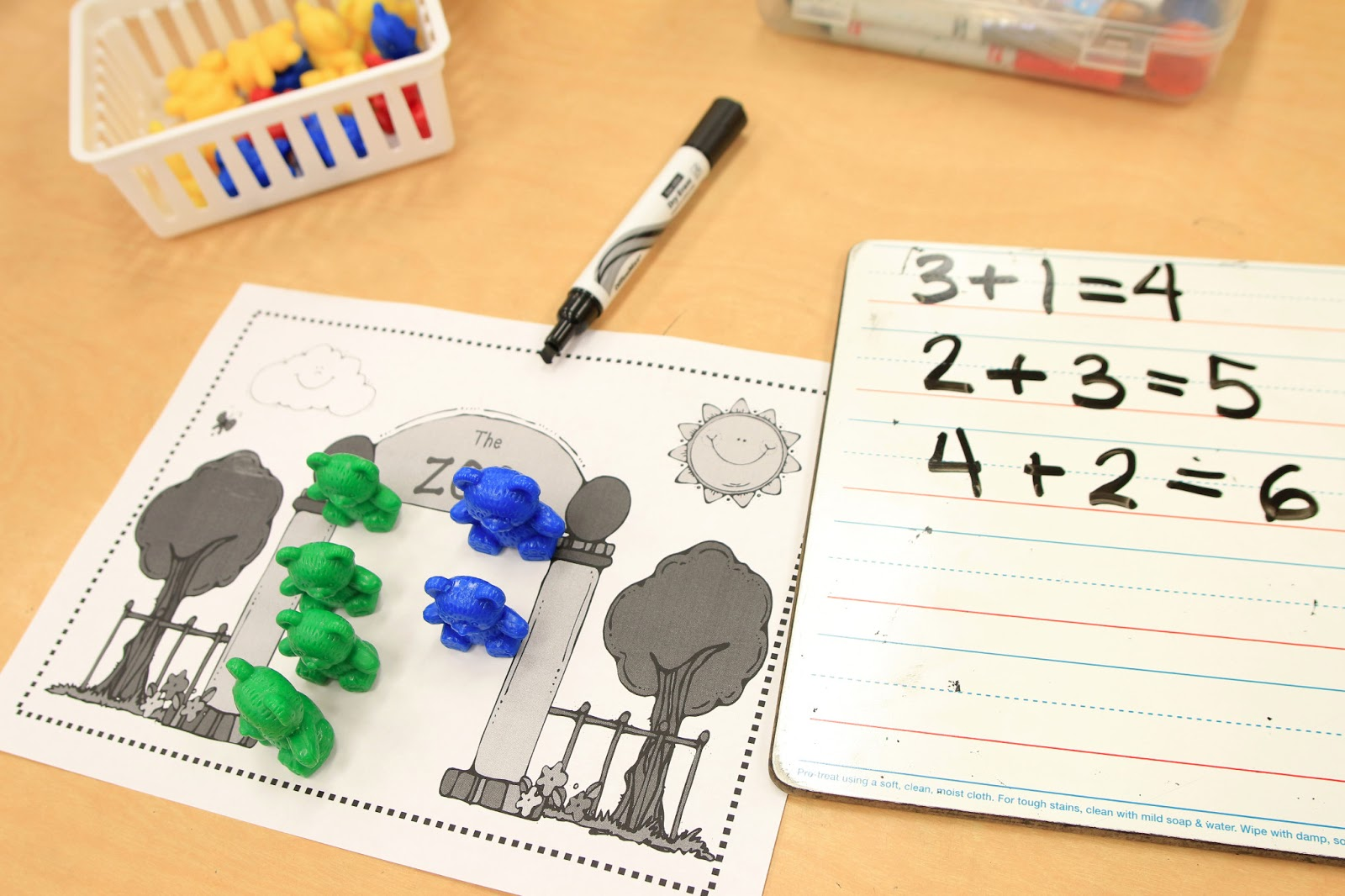 Mrs. Ricca's Kindergarten: Fun with Addition! {Freebies}