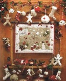 Conjunto para Navidad en fieltro