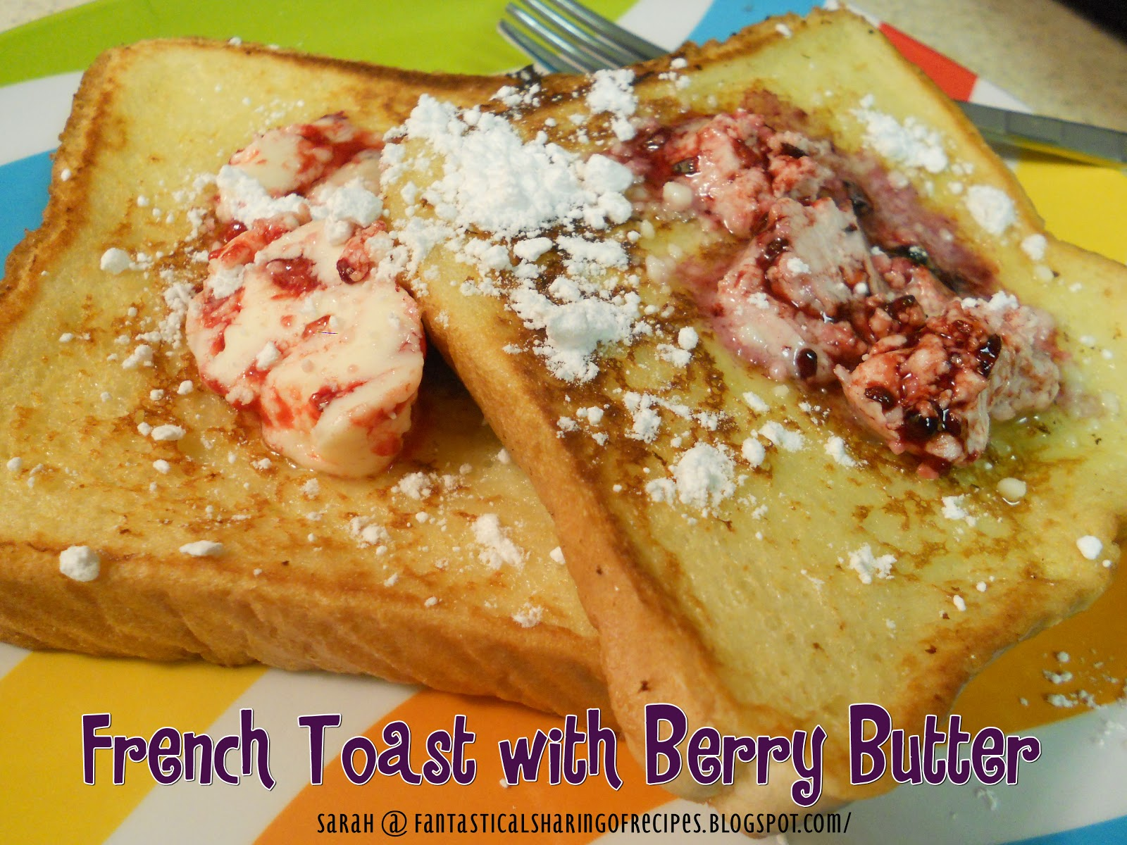 ... Woman's French Toast with Berry Butter. Ree Drummond never fails me