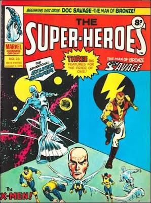 Marvel UK, The Super-Heroes #23