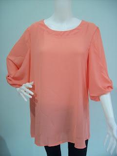 Qashmere Malaysian Online Shopping, New trend blouse, chiffon blouse, chiffon top, elegant chiffon blouse, plus size fashion, Sale Chiffon Top, Clothing Online Sale, Izara Chiffon Blouse