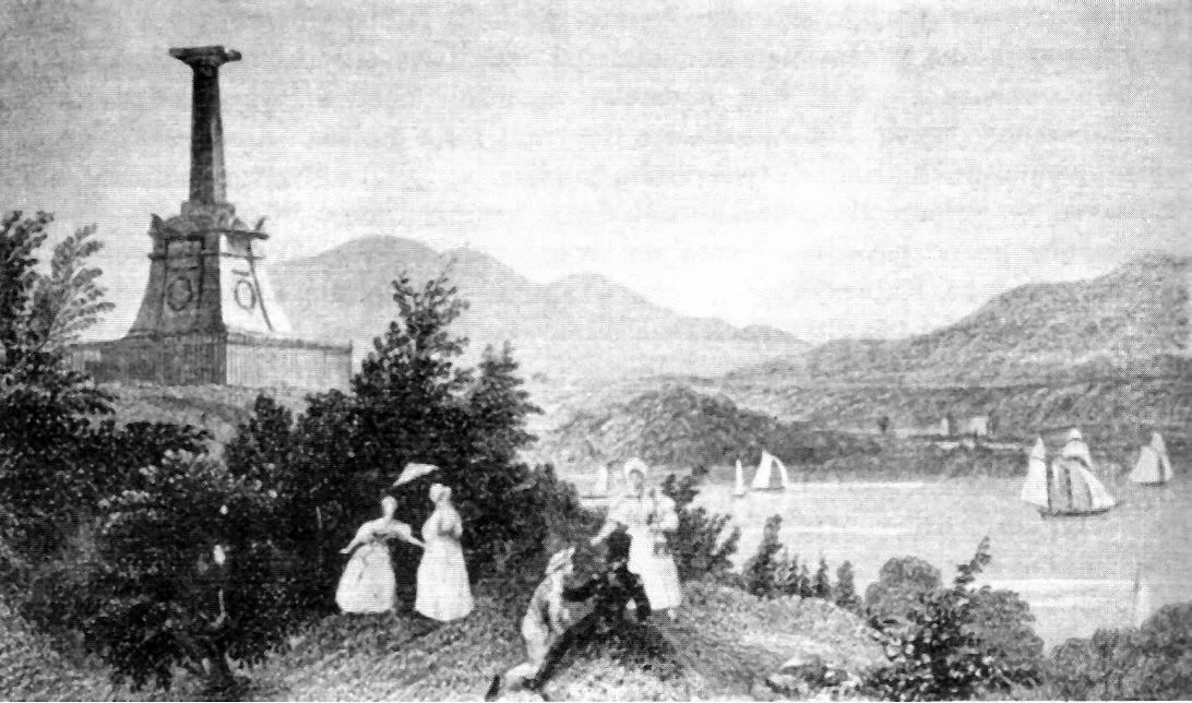 Pomnik Kościuszki w West Point nad rzeką Hudson