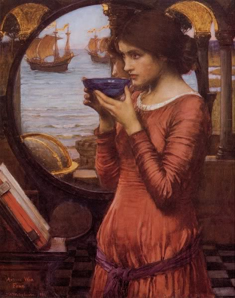 waterhouse destiny painting