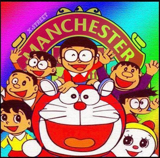 Agunk IT Freedom: Kartun Anime Manchester United