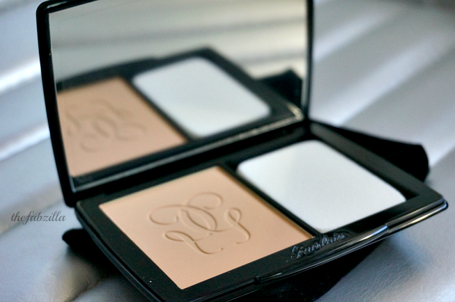 Guerlain Lingerie de Peau Powder Foundation, Review, Swatch, Best Setting Powder
