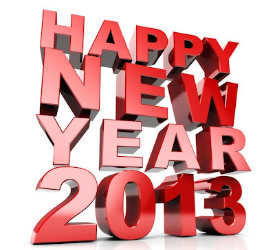 Kartu Ucapan Happy New Year 2013