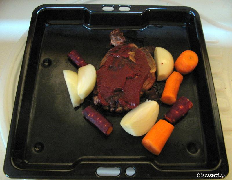 Le blog de clementine rago t de joues de porc la flamande - Joue de porc en cocotte minute ...