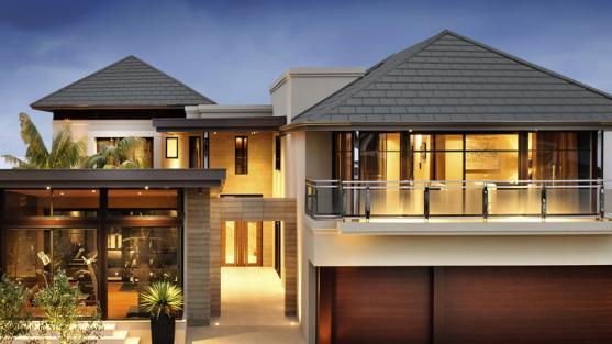 contoh model atap rumah minimalis