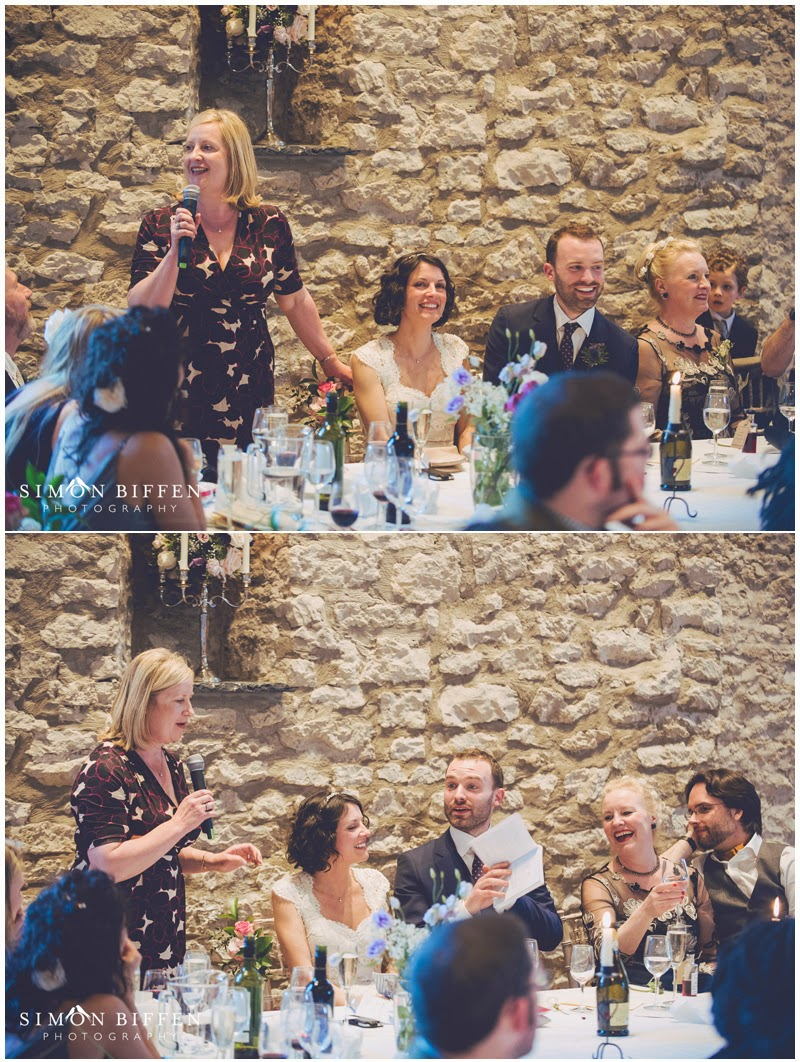 Mother of bride speech at Priston Mill wedding