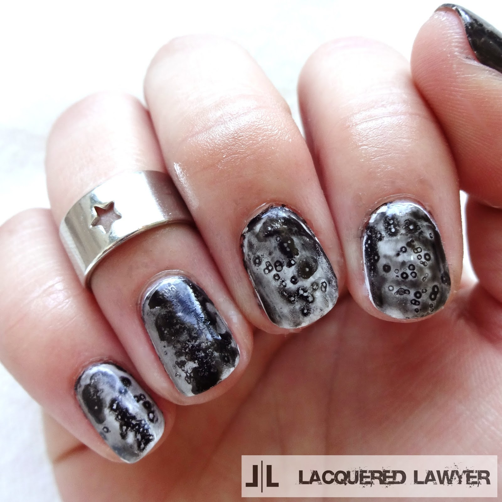 Lacquered Lawyer Nail Art Blog Moon Dust
