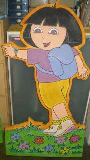 Dekor Styrofoam Dora