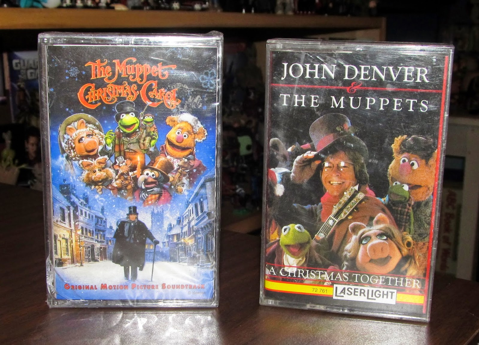 Goodwill Hunting 4 Geeks: 12 Days of Christmas Cassettes: 4 The Muppets!