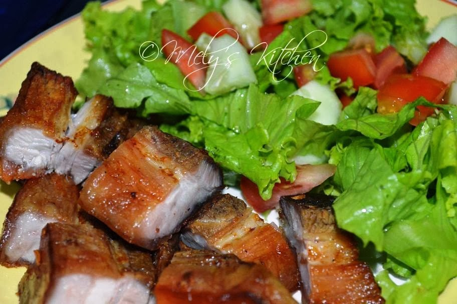 how to cook lechon belly in charcoal