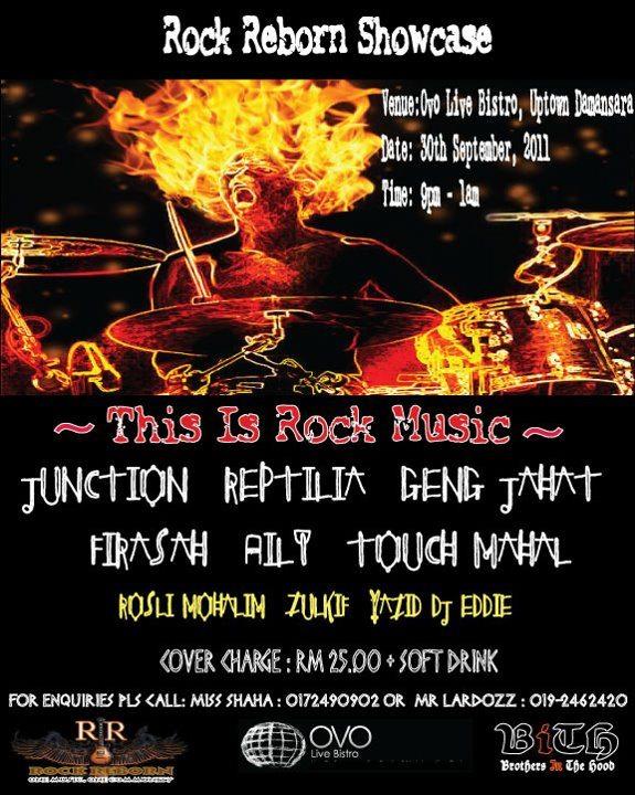 Event Rock Reborn Showcase