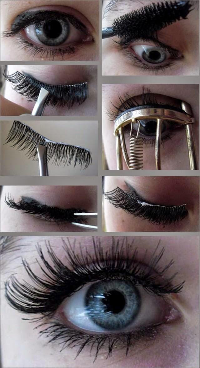 How To Apply Fake Eyelashes Properly Full Tutorial Fashionforlife1