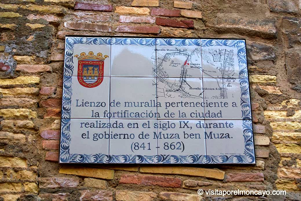 Tudela Murallas Fortificaciones Muza