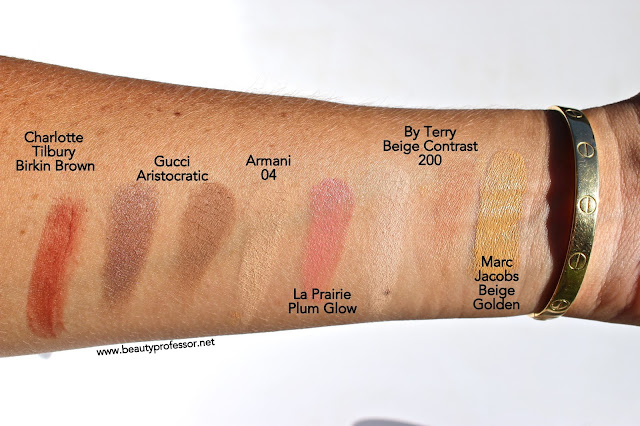 marc jacobs remarcable foundation swatches